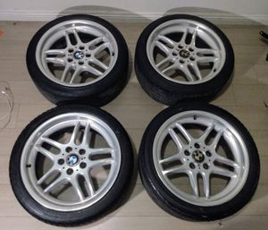 "OEM BMW M-Parallel 18"" Wheels (E36/E34/E46 tire spec) for Sale in Rowland Heights, CA"