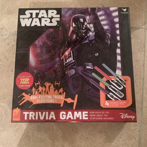 Star Wars The Trivia Board Game for Sale in Scottsdale, AZ