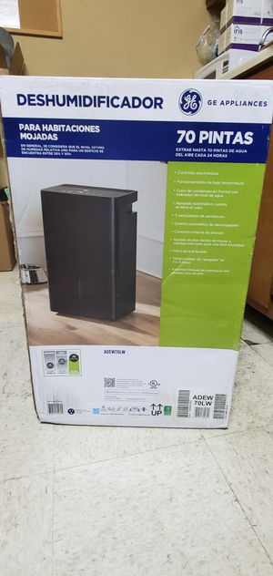 New GE appliances DEHUMIDIFIER for Sale in Garland, TX