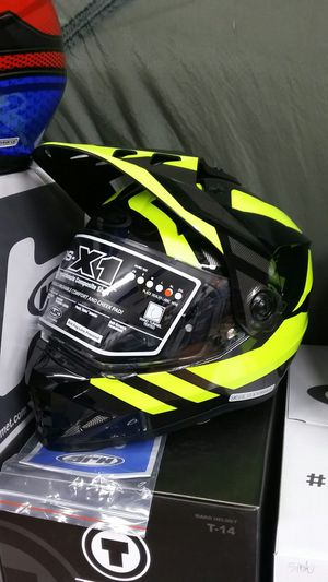 Motorcycle Supermoto dirt bike helmet size large for Sale in Los Angeles, CA
