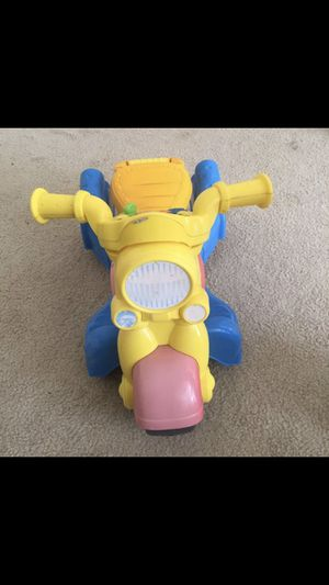 Scooter bike kids boys car toys musical for Sale in Silver Spring, MD