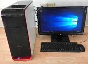 Dell Studio XPS Gaming PC i7//6GB//256SSD -Windows 10 -Word/Excel!!! -Fully Functional!!! for Sale in Villa Park, IL