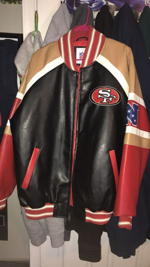 San Francisco 49ers Jacket Size XL for Sale in Charles Town, WV