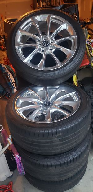 20 inch rims and tires OEM for Sale in UPPR MARLBORO, MD