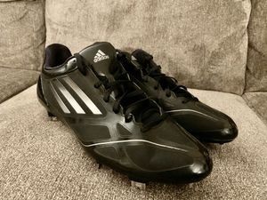 Mens 12.5 NWT ADIDAS Adizero Black Metal Baseball Cleats for Sale in Halethorpe, MD