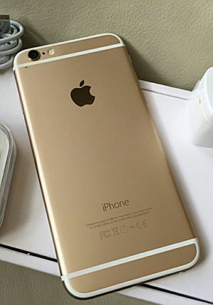 iPhone 6 Plus (6+), 64gb- Excellent Condition, Factory Unlocked, clean IMEI for Sale in Springfield, VA