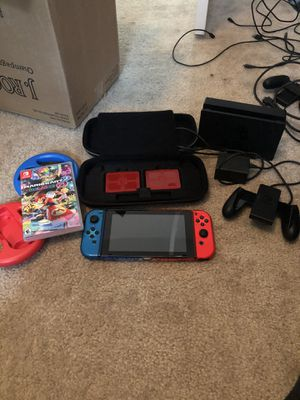 Nintendo switch with Mario kart for Sale in North Las Vegas, NV