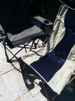 2 Folding beach Chairs $10 For both for Sale in Port Richey,  FL
