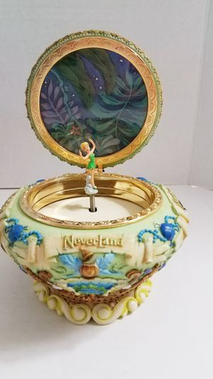 Rare Disney/ Tinkerbell Neverland music box for Sale in Tigard, OR