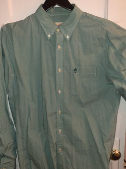 Brooks Brothers Green Oxford Sport Shirt (L) for Sale in Brooklyn,  NY