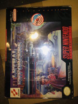 Super Nintendo Lethal Enforcers CIB for Sale in Columbus, OH