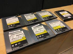 Six Lenovo laptop DVD burners for Sale in Kirkland, WA