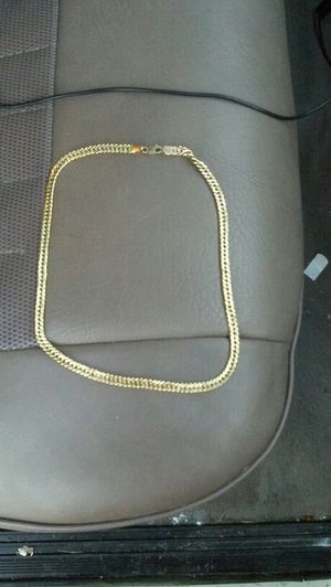 Gold Chain Cuban Gutter cut old chain approx.38 grams for Sale in San Francisco, CA