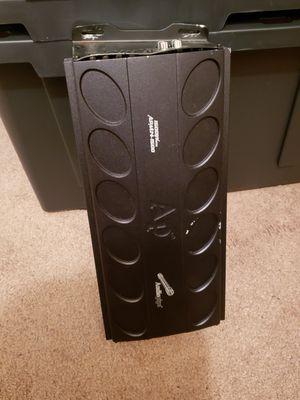 Audio Pipe 12s fiber glass speaker boom box ,Audio pipe 1,500 watts D Class amp for Sale in Detroit, MI