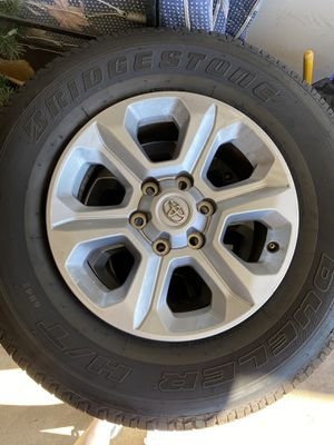 Bridgestone tires 4 with rim from Toyota factory for Sale in Carlsbad, CA