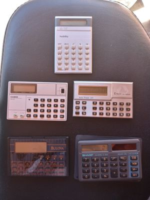 Vintage calculator-bulova for Sale in Fullerton, CA
