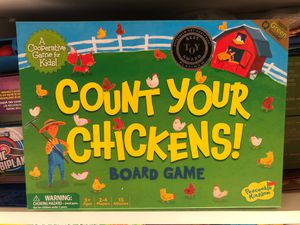 Count your CHICKENS! Board game for Sale in Sunnyvale, CA