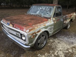 Late model Chevy truck project for Sale in Hephzibah, GA