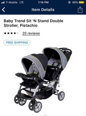Baby trend double stroller $90 for Sale in Las Vegas, NV