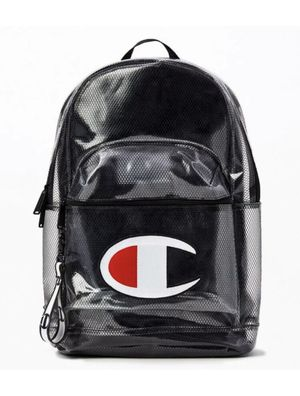 Champion Supersized Clear Black Transparent Backpack New With Tags for Sale in Mechanicsburg, PA