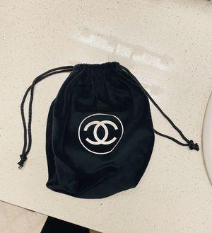 Chanel black velvet drawstring bag for Sale in Denver, CO