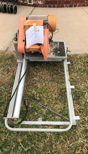 Tile wet saw for Sale in Oklahoma City, OK