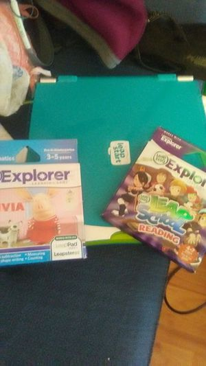 Leap pad plus 2 new games for Sale in Crofton, MD