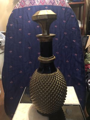 Gold & Black Jeannie type bottle for Sale in West Haven, CT