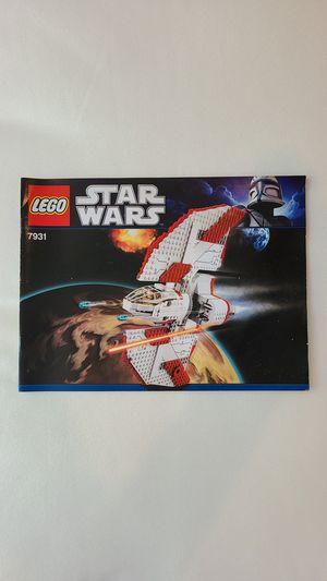 LEGO 7931 Star Wars T-6 Jedi Shuttle for Sale in Irvine, CA