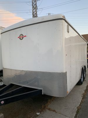 Trailer enclosed trailer cargo trailer 8 1/2X16 for Sale in Antioch, CA