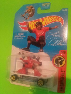 2 hot wheels signature STEVE CABALLERO toys new sealed for Sale in Azusa, CA