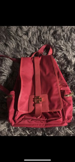 Tory burch hot pink backpack for Sale in Denver, CO