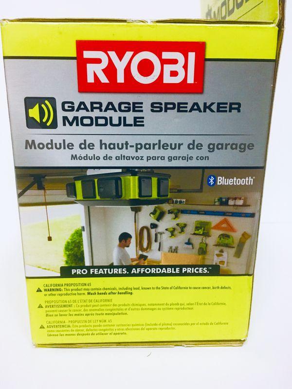 RYOBI Garage Bluetooth Wireless Speaker module for garage door opener