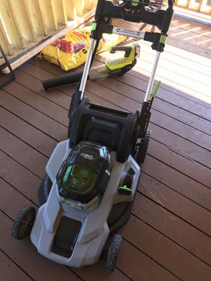 Ego cordless mower for Sale in Dallas, TX