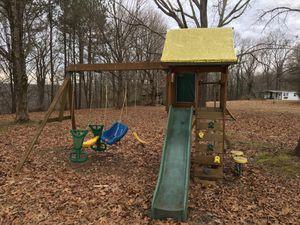 Wooden swing set for Sale in Springfield, TN