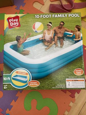 Brand New 10 Feet Kids Swimming pool Playday for Sale in Rosemead, CA