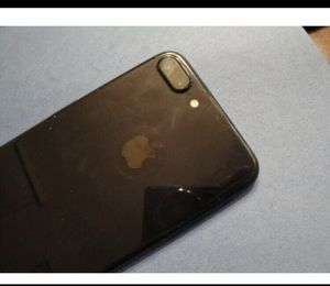 Apple IPhone 7 Plus 32gb jet black cricket for Sale in Corona, CA