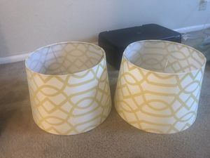 Home goods- Lamp shades for Sale in Austin, TX