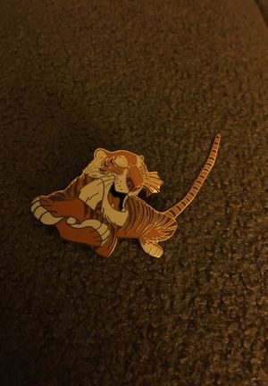 Shere Khan Walt Disney Pin Circa 2001 for Sale in Taunton, MA