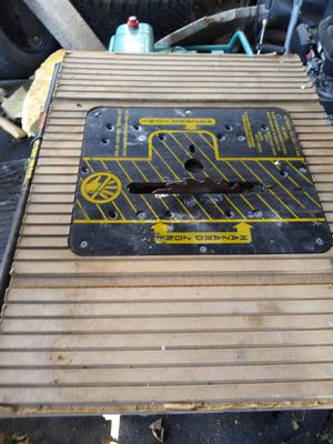 Black and Decker table Saw for Sale in Denver, CO
