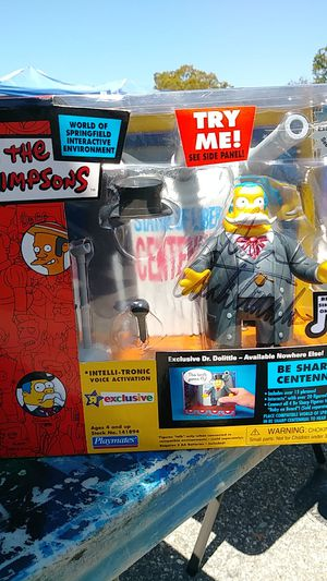 The Simpsons B Sharp's Centennial action figure for Sale in Los Angeles, CA