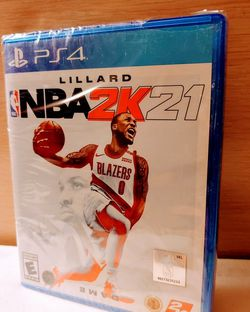 PS4 NBA2K21 BRAND NEW FACTORY SEALED for Sale in Escondido,  CA