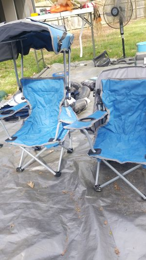 Kids back pack chair with shade for Sale in Indian Trail, NC
