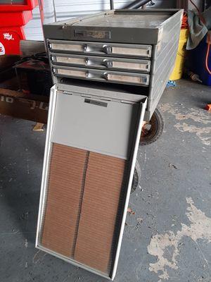 Old metal file box for Sale in Jonesborough, TN