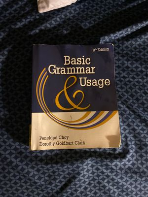 Basic Grammar Usage 8th edition by Penelope Choy for Sale in Hesperia, CA