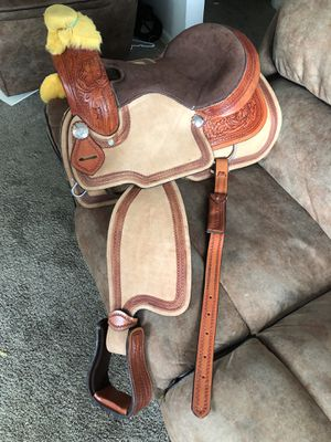 """Western saddle15"""" for Sale in Fort Lupton, CO"""