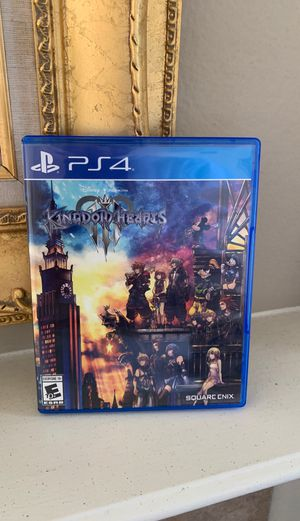 Kingdom hearts 3 (ps4) for Sale in Chula Vista, CA