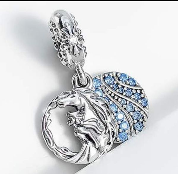NWt Elsa Frozen European Bead Charm