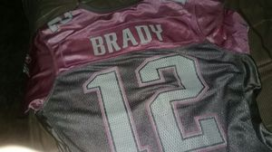 official nfl rbk brady patriots jersey pink ladies s/m for Sale in North Smithfield, RI