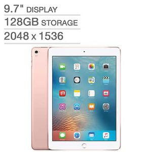 Ipad 7th Rose Gold 128gb Latest Brand New Sealed Never opened for Sale in Edgewood, WA